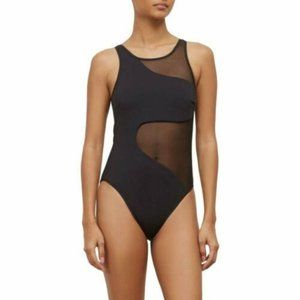 NEW!!! Kenneth Cole High Neck One Piece Swimsuit